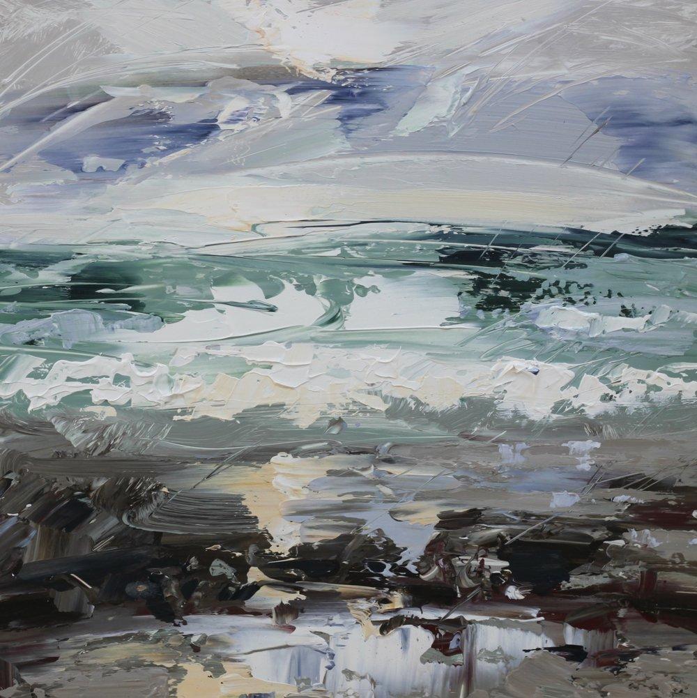 Cold Surf - 50 x 50cm
