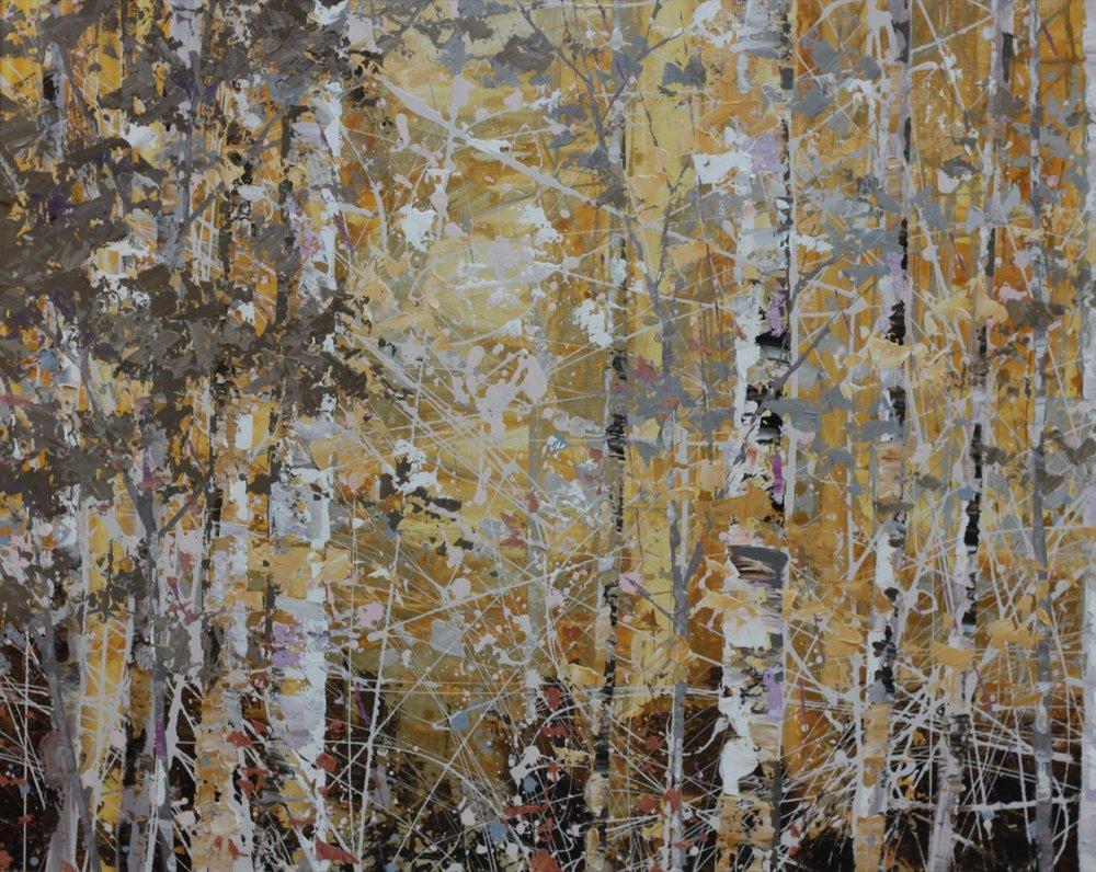 Silent Woods - 120 x 160cm