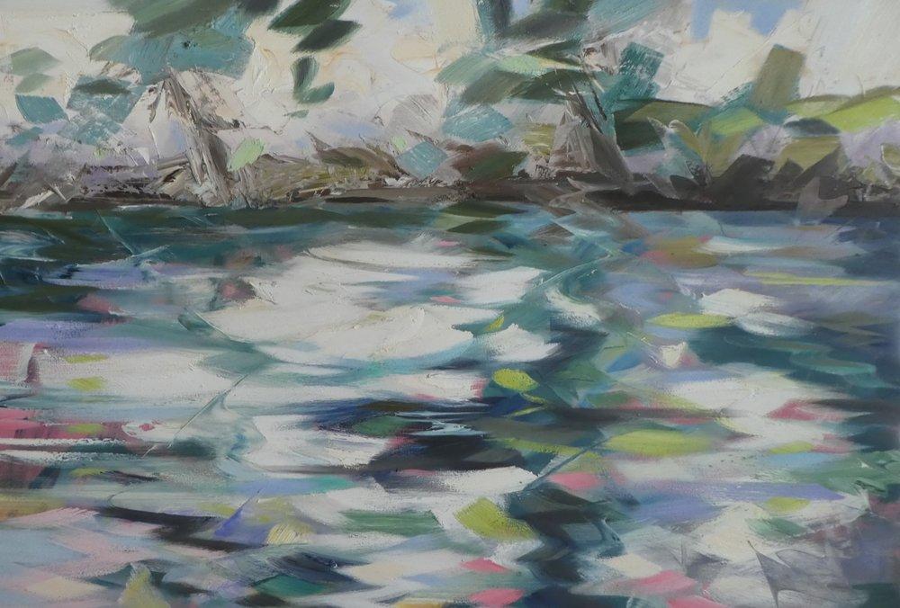 Stream - 100 x 150cm
