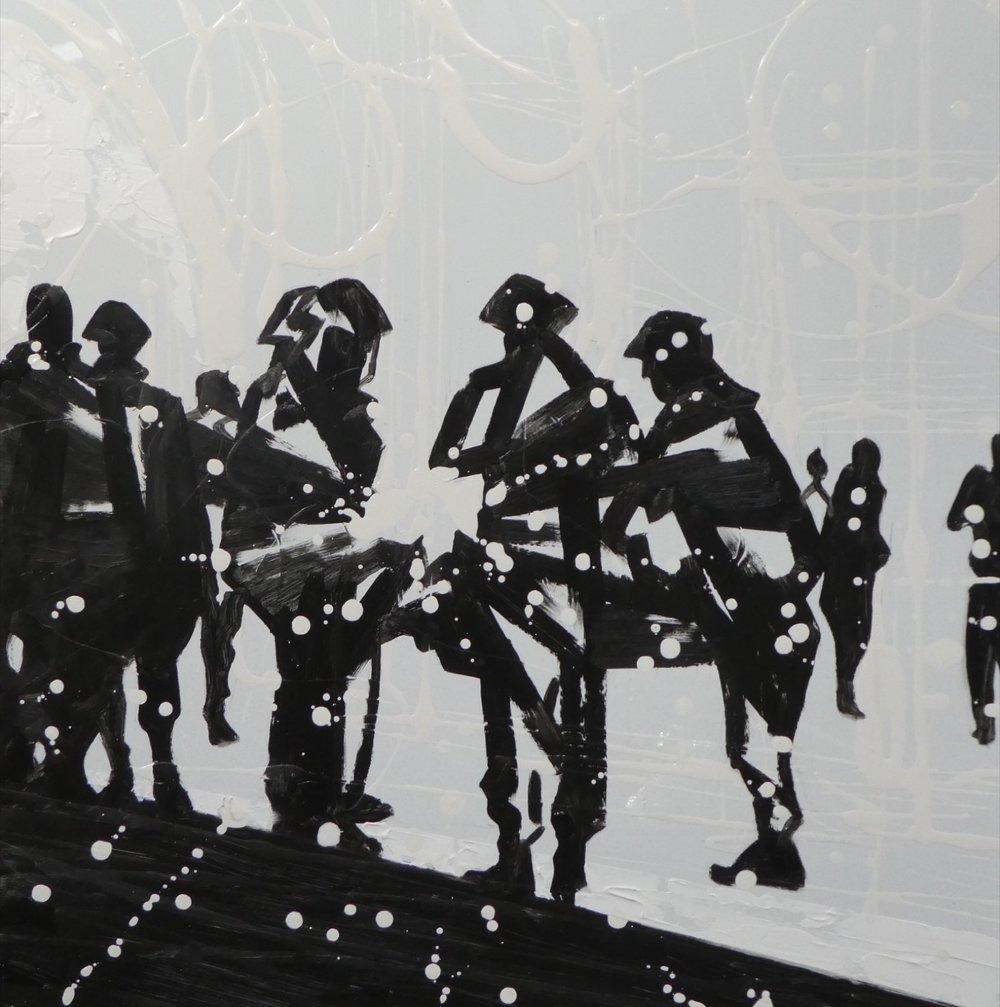 Gathering - 50 x 50cm