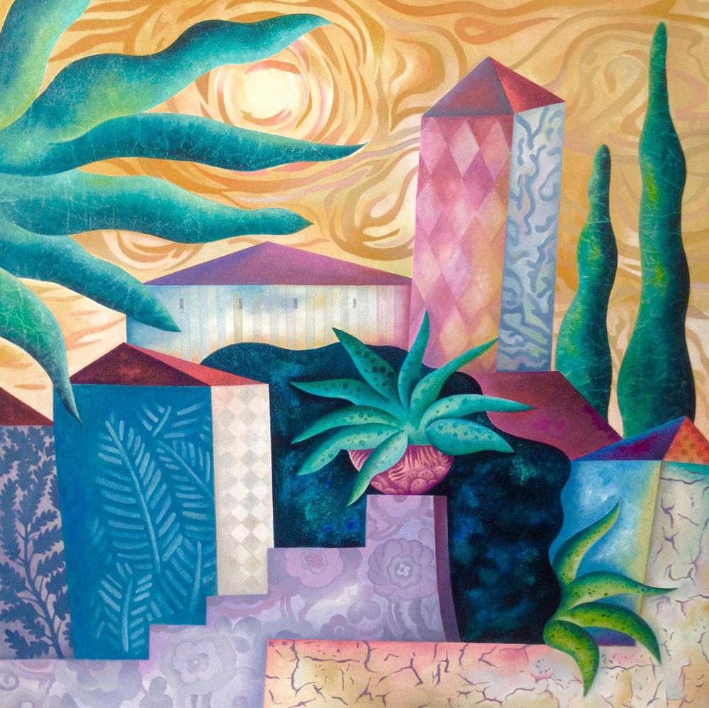 Provence Garden - 2'x2'