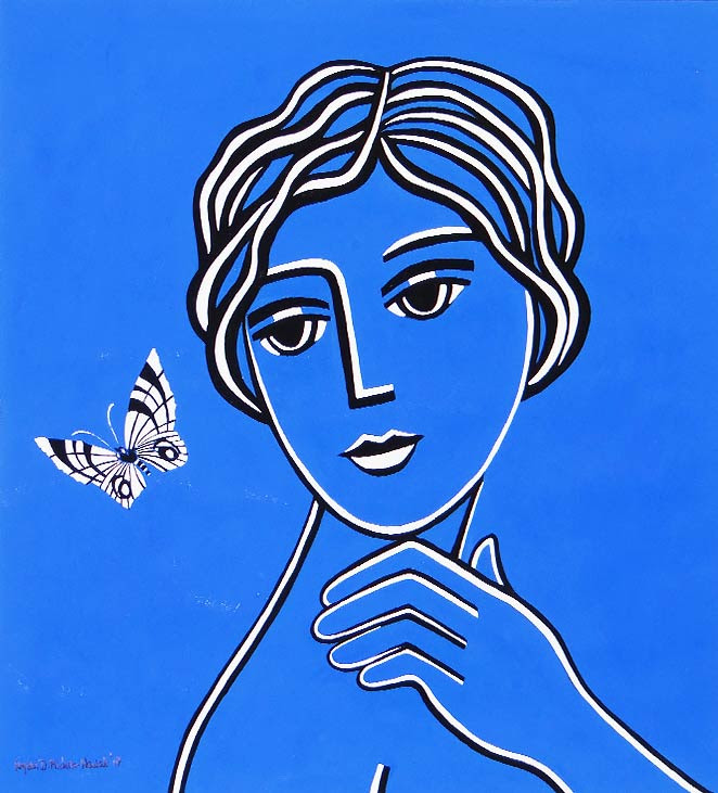 The Beautiful Butterfly - SOLD