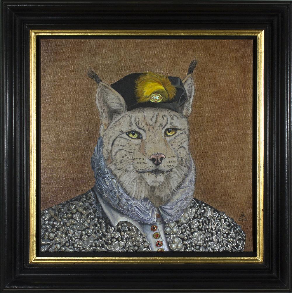 """William """"The Cat"""" Catesby - 40cm x 40cm"""