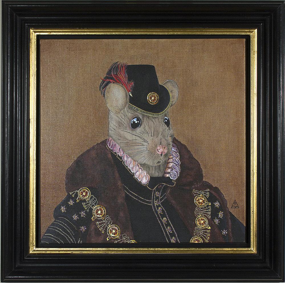 """Richard """"The Rat"""" Ratcliffe - 40cm x 40cm"""