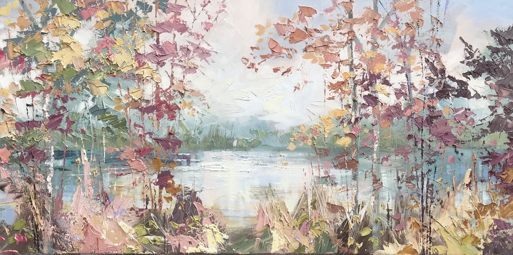 Autumn river 50x100 £3,700.JPG