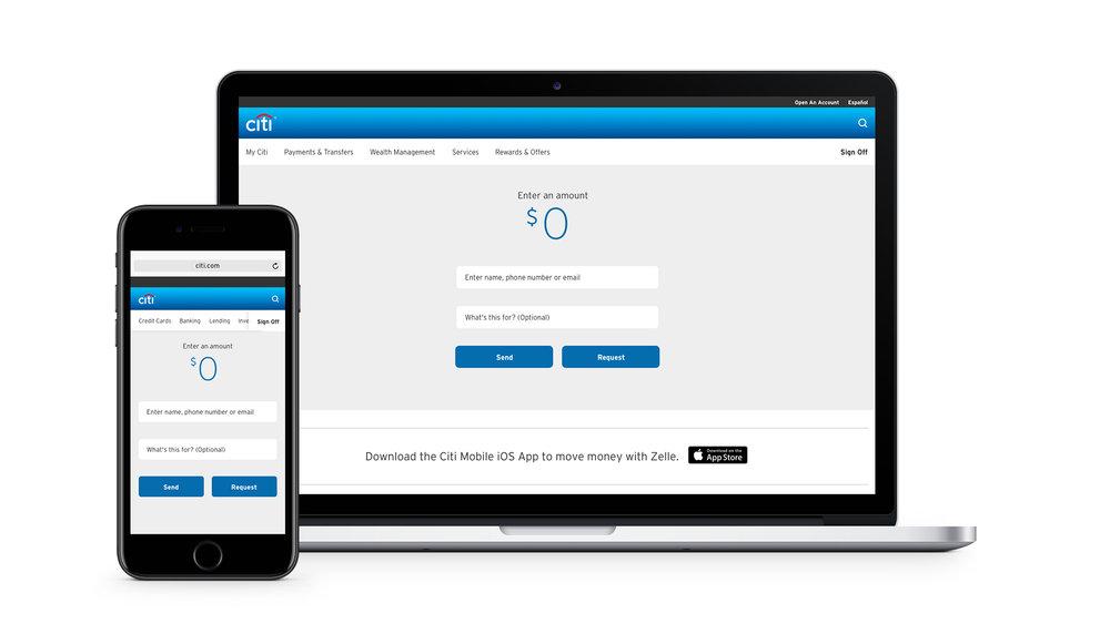 Peer-to-Peer Banking Homepage