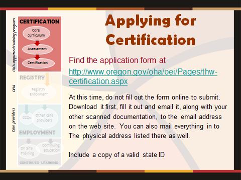 pathway to state doula certification oregon doula association oda