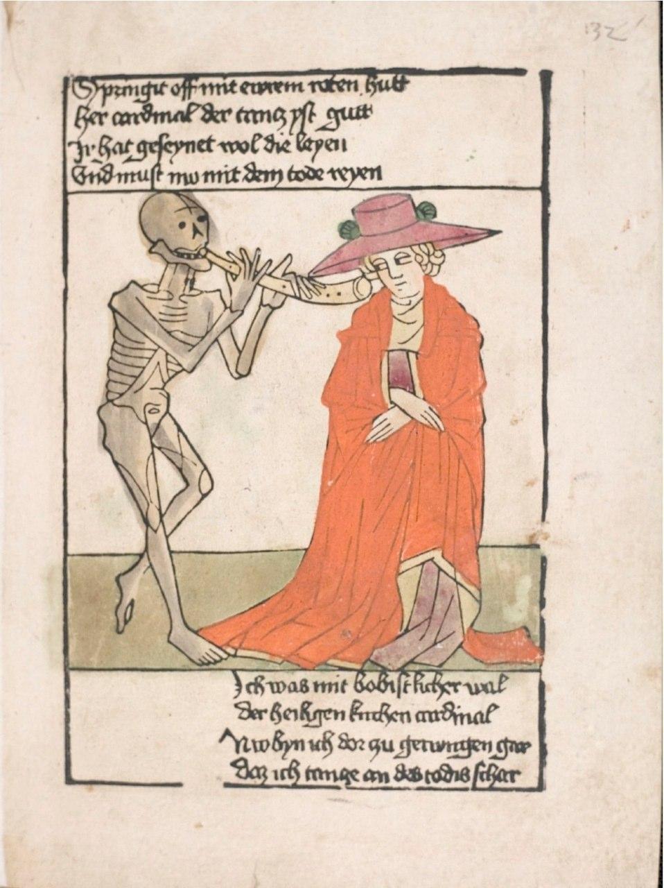 Heidelberger Totentantz,  Heinrich Knoblochtzer, 132r