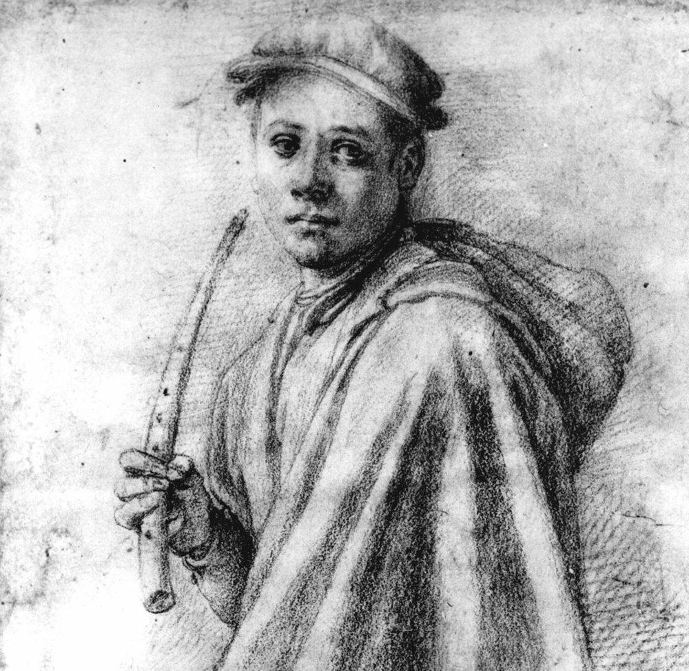 Jacopo Pontormo, Sketch, Galleria degli Uffizi, Florence