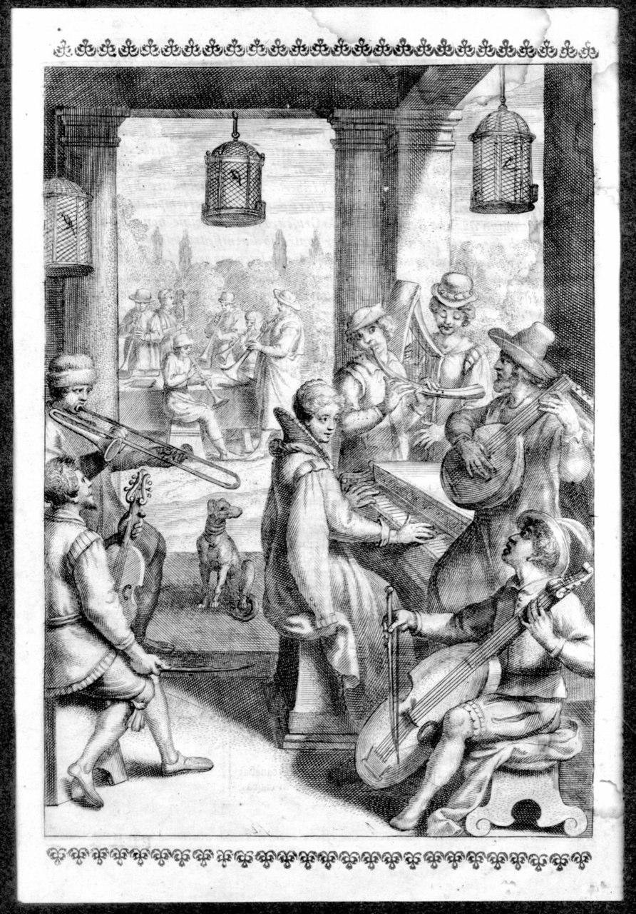 Antonio Tempesta, ca. 1585 Concerto