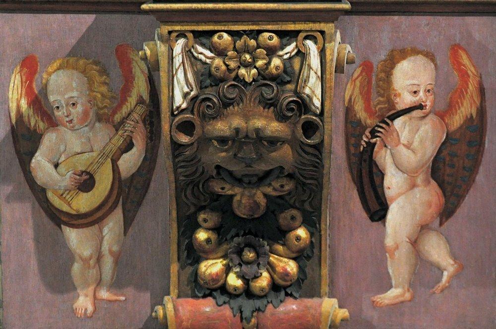 Altar decoration at Jindřichův Hradec
