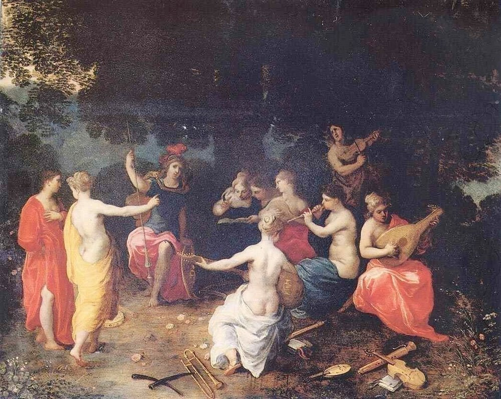 Hendrik van Balen (1575-1632) Apollo and the Muses