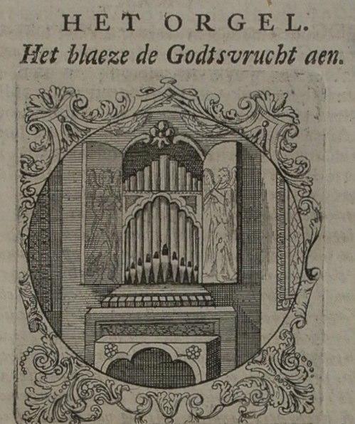 1650 Anoniem Zinnebeelden, het Orgel Contributed by Marleen Leicher.