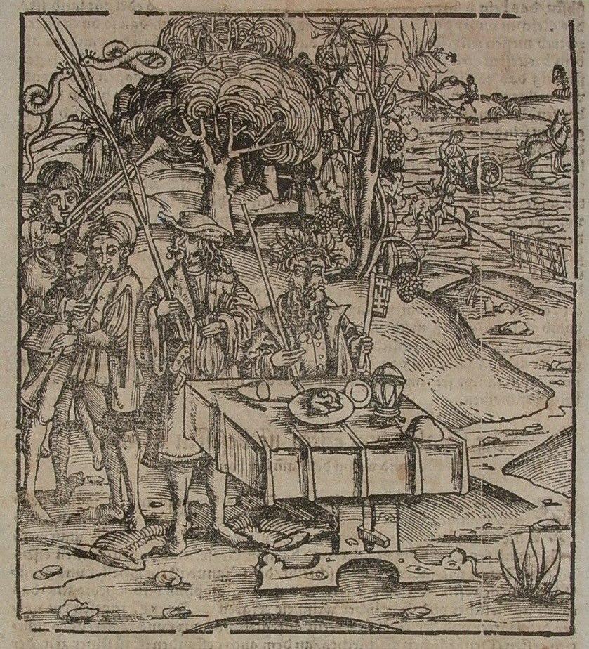 1569 Anoniem uit Cosmographey oder Beschreibung aller Länder Contributed by Marleen Leicher.