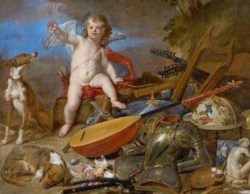Amor vincit omnia of Jan van den Hoecke, 1611-1651)