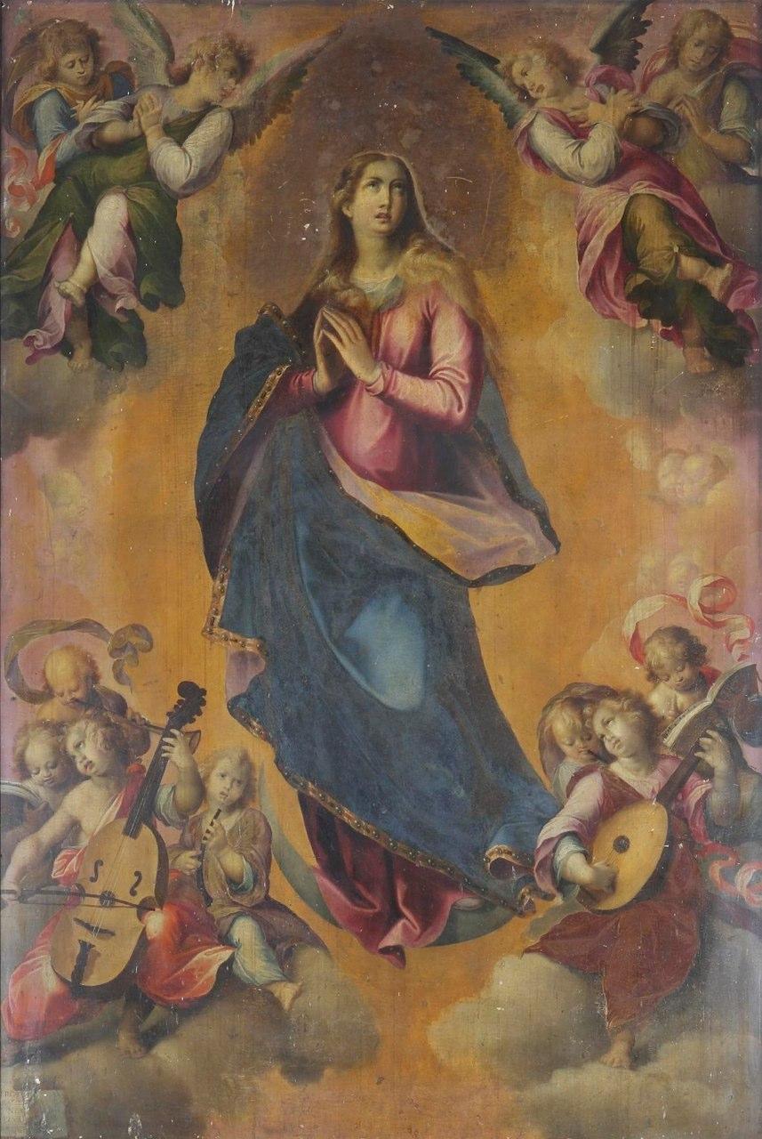 Immacolata of Girolamo Imparato (1549-1607) in Castellammare di Stabia