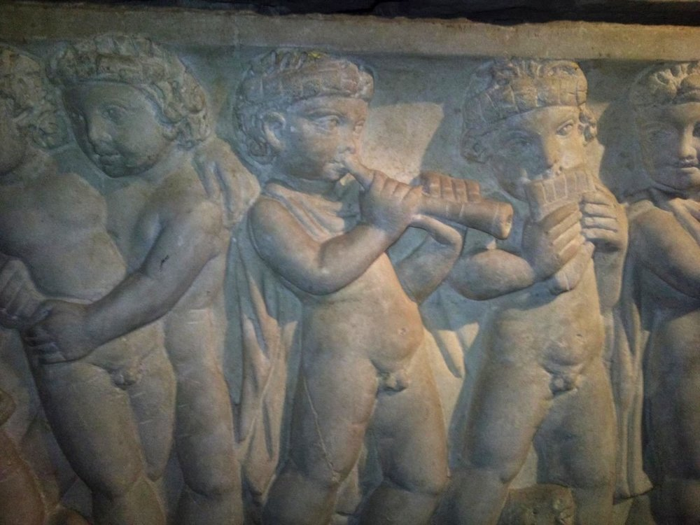 Roman sarcophagus, 4th-5th centuries? Museo Nazionale Romano - Terme di Diocleziano Contributed by Guido Vetere