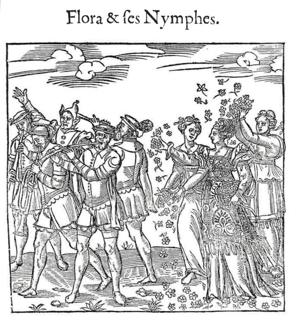 C'est la Deduction du Sompteuux Ordre Plaisant et Spectacles, 1551, Depicts celebrations for Henry II and Catherine de Medici. Contributed by Pietro Modesti