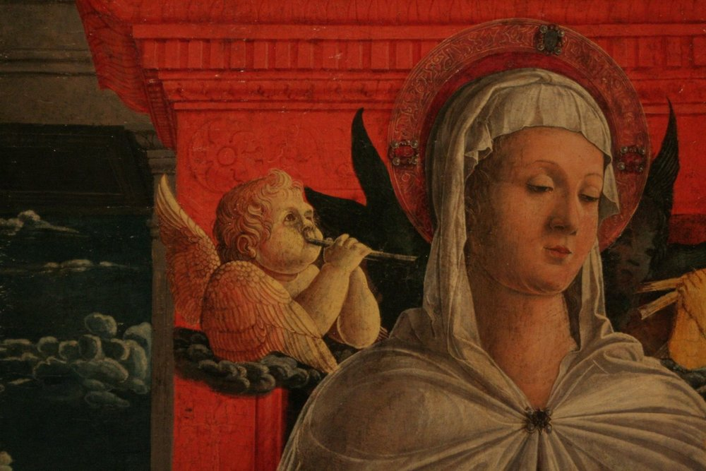 Francesco Benaglio (c1432- 1492), Madonna and Child in the Accademia delle belle arti, Venice. Contributed by Matthew Manchester