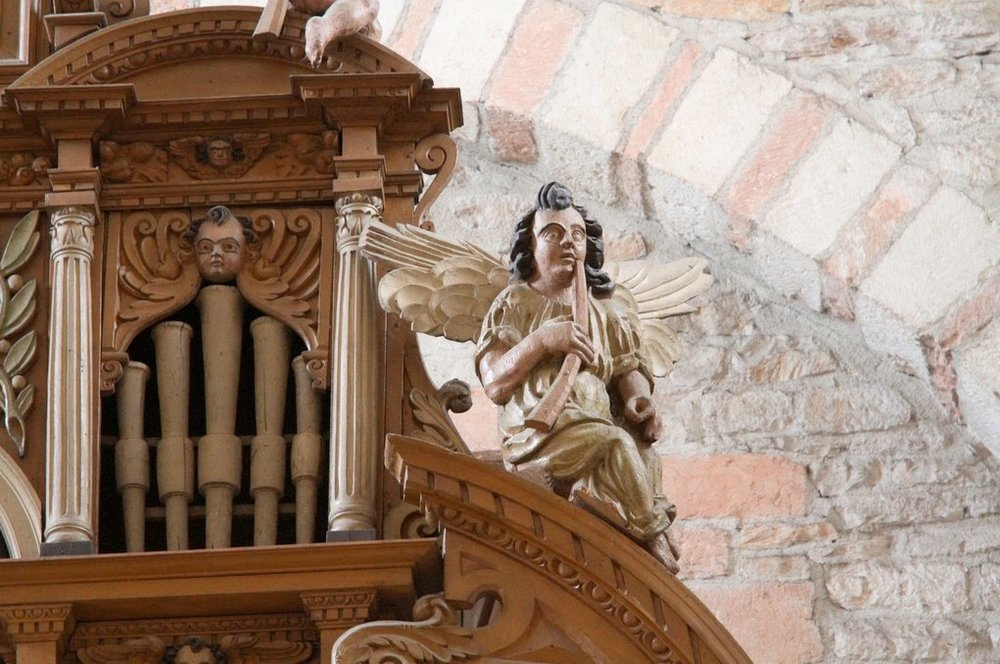 Tournus, abbatiale, organ 2