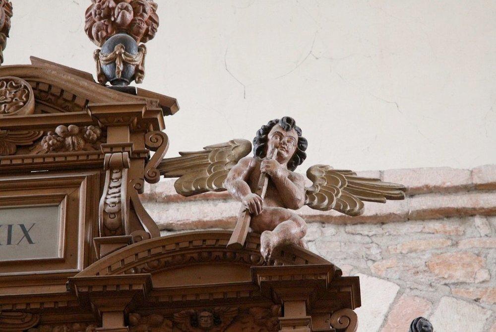 Tournus, abbatiale, organ 4