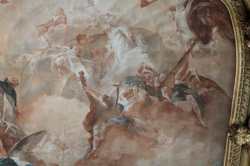 Giovanni Battista Piazzetta (1682-1754). Venice, Basilica di San Zanipolo (Gio. & Paulo), 1727.