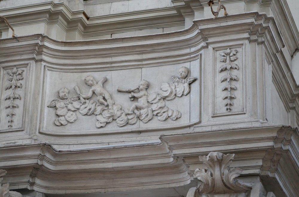 Venice, S. Stae, organ cantoria, Gaetano Callido, 1772.