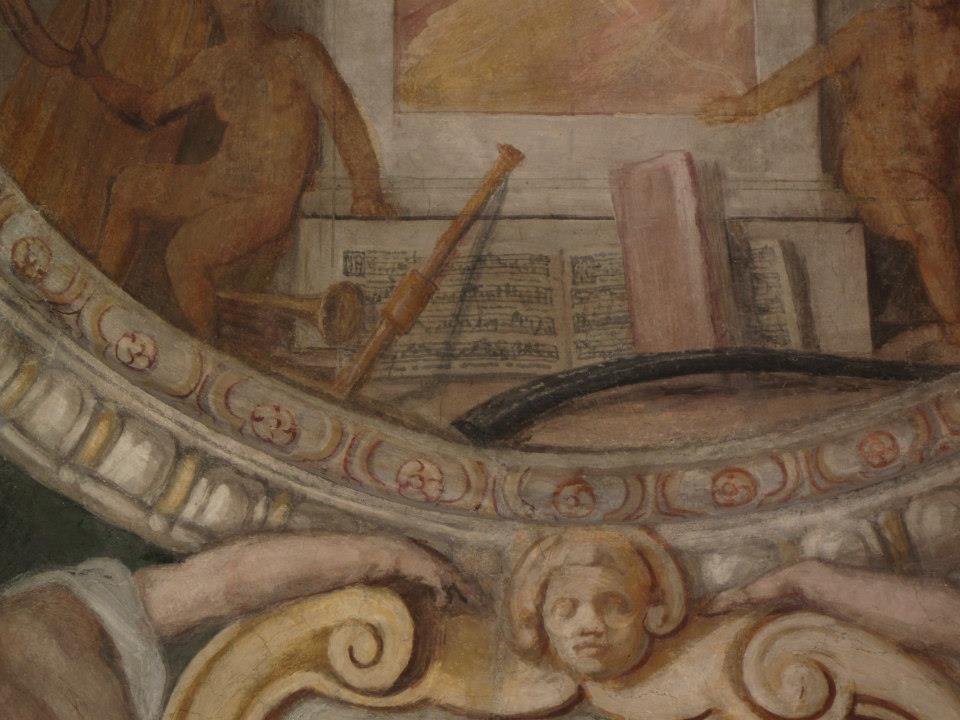 Palazzo Zuccari detail