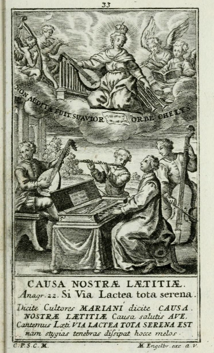 Engraving by Martin Engelbrecht in the Elogia Mariana, Augsburg, 1732