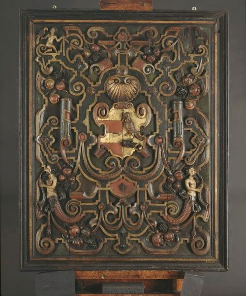 Decorative Panel in the V&A Museum, London, ca. 1600. Contributed by David Jarratt- Knock.