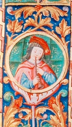 Illumination in the «Livro I de Além-Douro» da Leitura Nova - 1521.