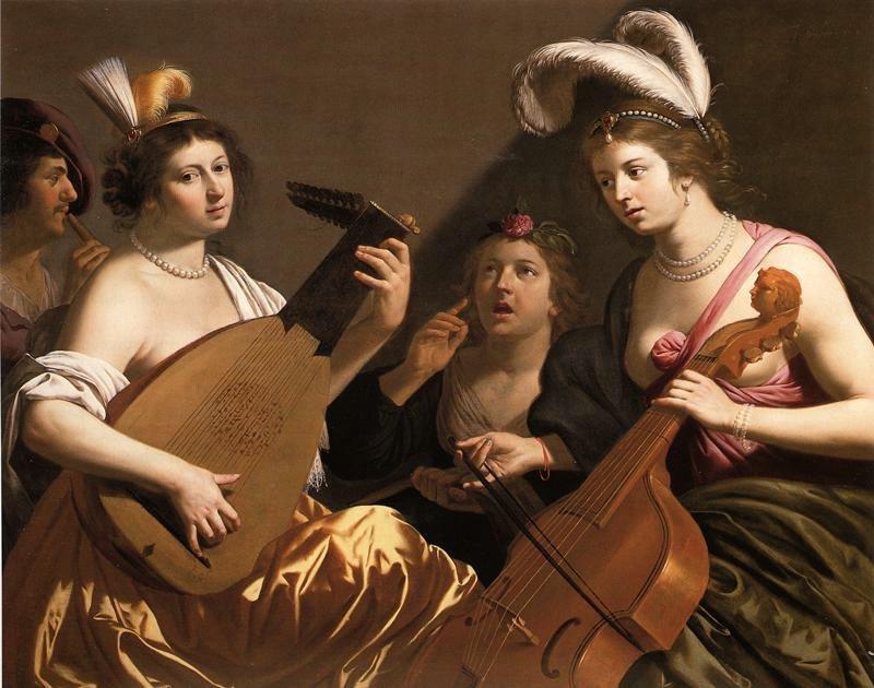 Jan van Bijlert, The Concert 1635-40, private collection.