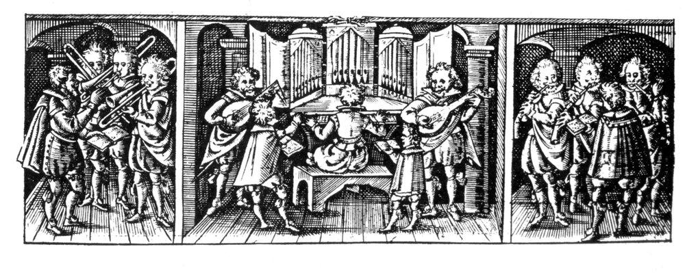 Title page of Johann Hermann Schein's Israelsbrünnlein, Leipzig, 1623.