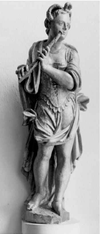 Chemnitz Wooden statue, early 17th century, probably by Michael Hegewald.
