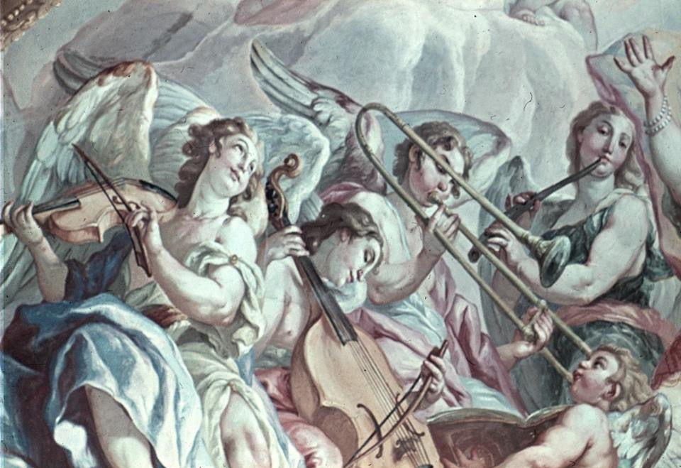 A fresco by Johann Michael Rottmayr