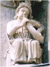 Figure on the Cathedral of Burgos