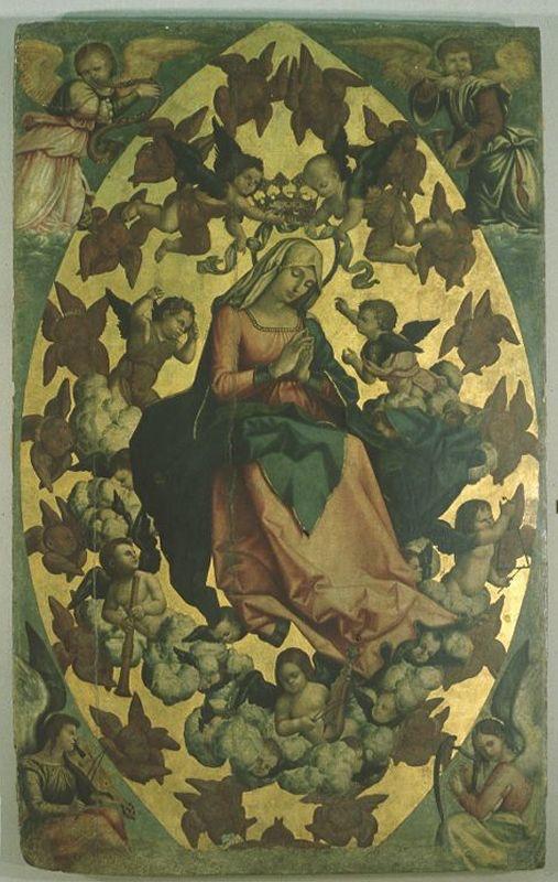 Antonello Crescenzio detto Antonello il Panormita. Assunta (prima metà sec XVI)
