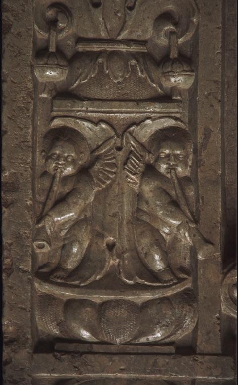 Sorø, Sjælland, gravestone of archbishop Absalon †1201