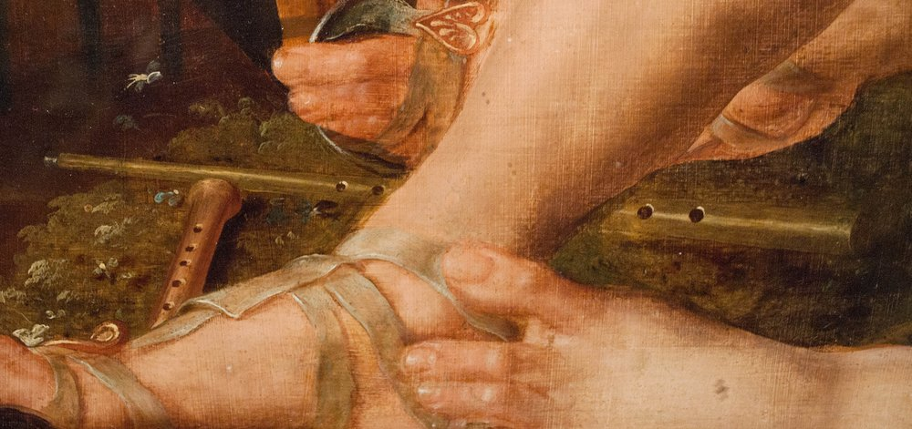 Maerten van Heemskerck (1498-1574). Apollo and the Muses, ca. 1555-1560