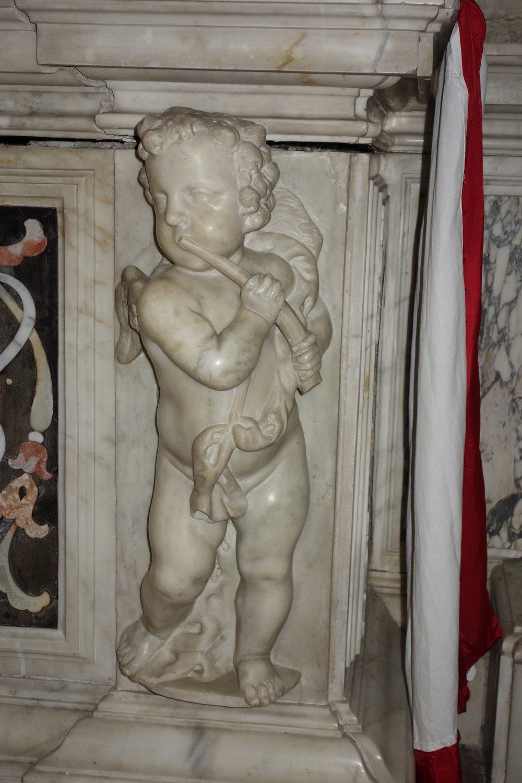 Putto in the Basilica di Santa Giustina in Padova.