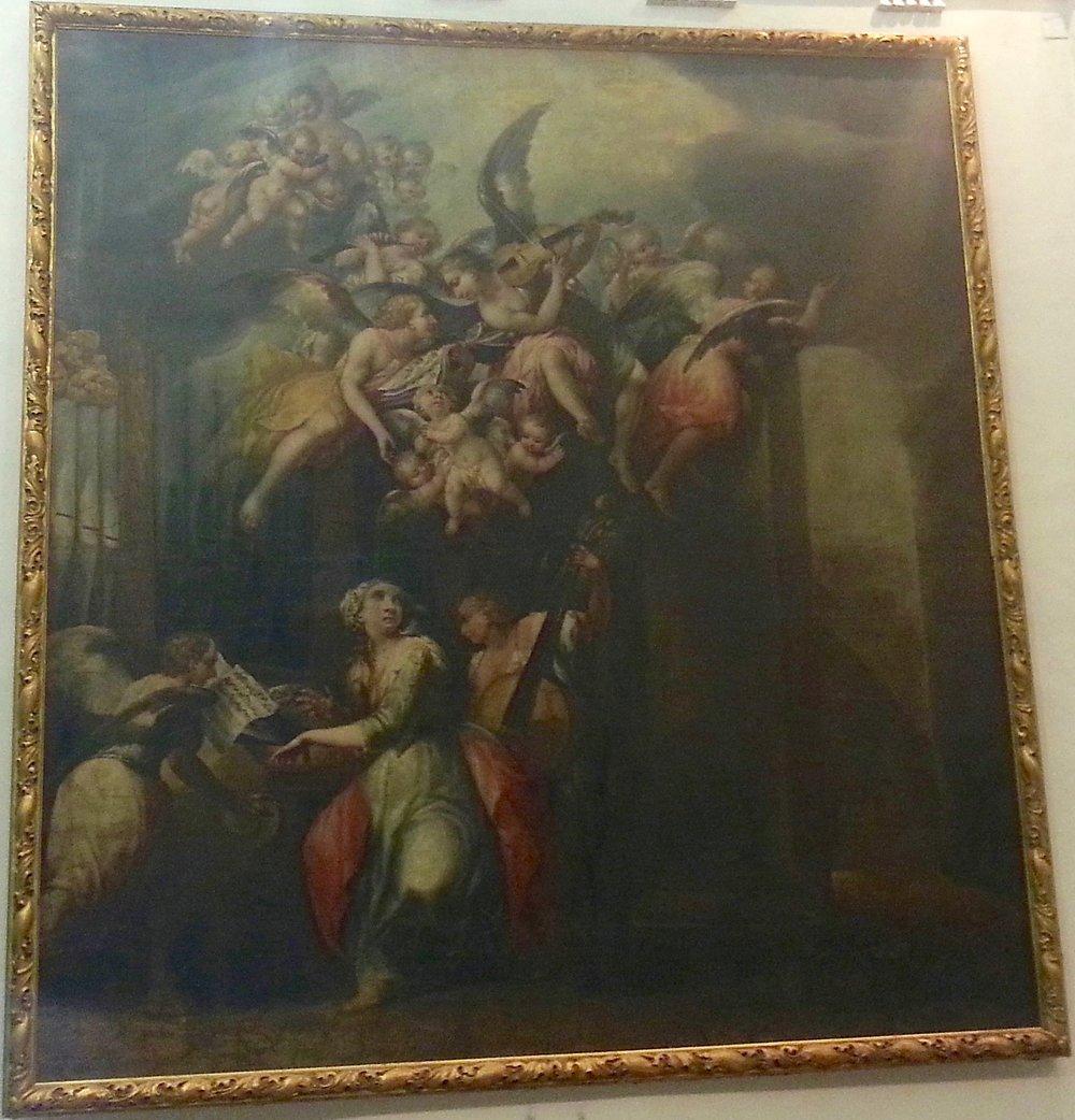 A. Campi, Santa Cecilia. Mid 17th century.