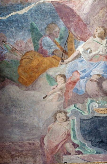 Fresco in the Duomo di Fabriano