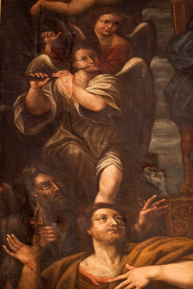 Painting in the Duomo of Fabriano