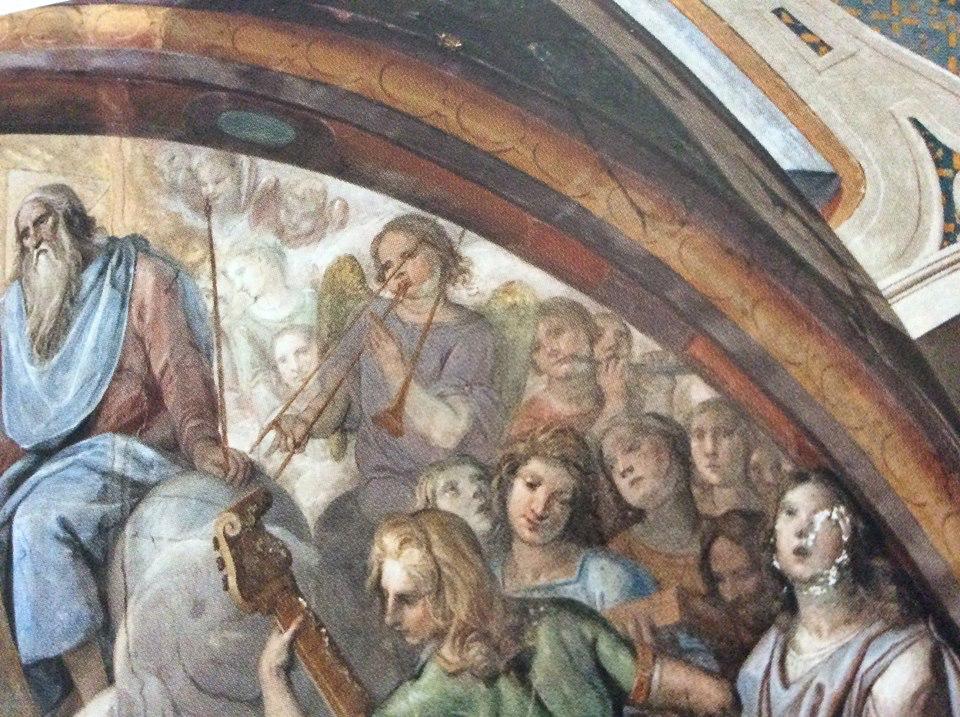 Pietro Sorri, 1556-1622. Incoronazione delle Vergine, Siena, Chiesa di S. Sebastiano in Vallepiatta.