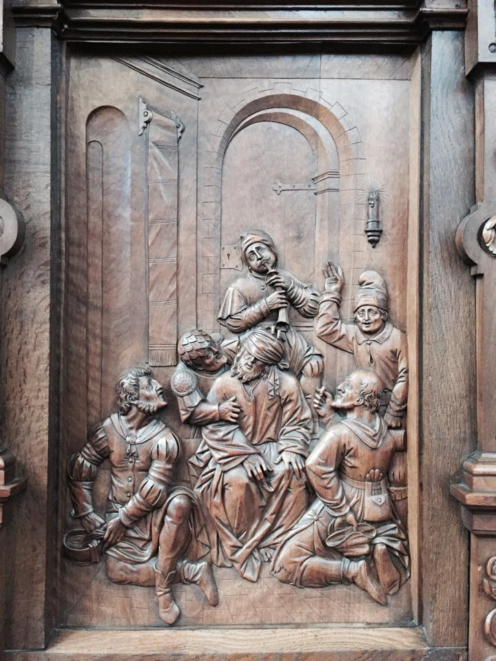 Heinrich and Melchior Fischer (first Version from Christoffel Fünffe), Choir stalls, St. Michael, Beromünster, (1601) 1606 -1610.