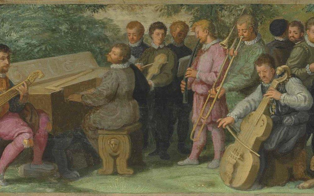 Painting, 16th century Venetian.
