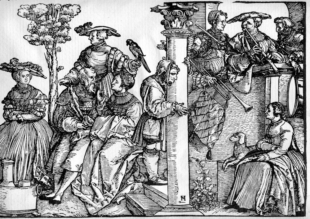 Hans Schäufelein (1480-1540), The Princess's Dance, Berlin, ca. 1535