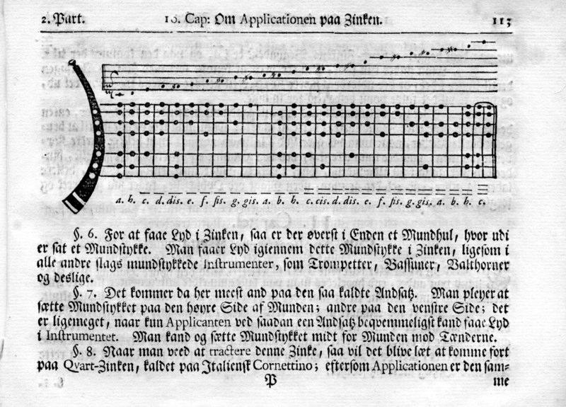 Johann Daniel Berlin Musicaliske Elementer... Trondheim, 1744