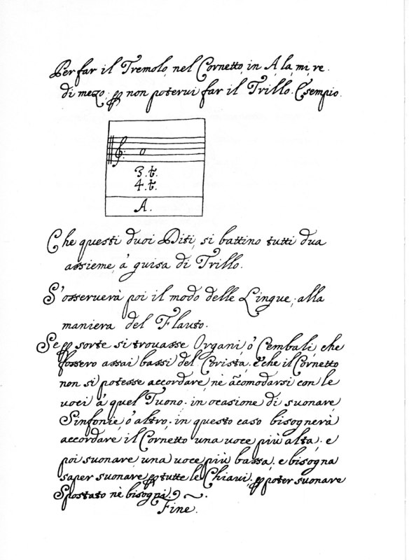 Bartolomeo Bismantova Compendio Musicale, Ferrara, 1677