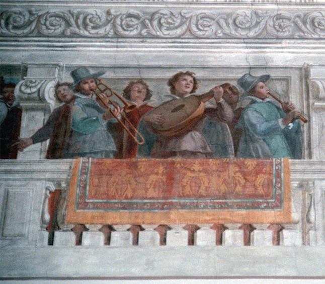 Fresco in the Villa Spinola di San Pietro, Genova.